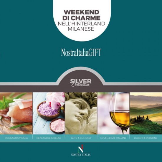 Cofanetto Weekend di charme nell'hinterland milanese